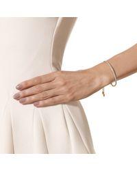 Monica Vinader White Fiji Diamond Bar Bracelet
