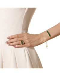 Monica Vinader | Green Baja Chain Bracelet | Lyst