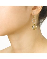 Monica Vinader Metallic Riva Diamond Cocktail Earrings