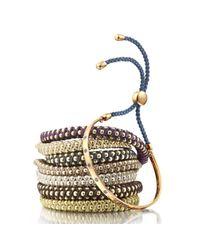 Monica Vinader - Metallic Rio Friendship Bracelet - Lyst