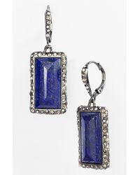 Alexis Bittar | Blue Miss Havisham Drop Earrings | Lyst