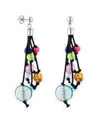 Antica Murrina | Multicolor Cancun Murano Glass Beads Drop Earrings | Lyst