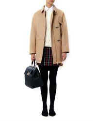 N°21 Brown Wool Duffle Coat