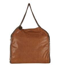 Stella McCartney Brown Falabella Shaggy Deer Shoulder Bag
