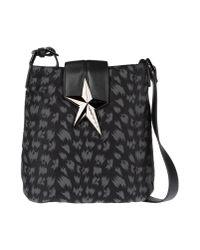 Thierry Mugler Black Medium Fabric Bag