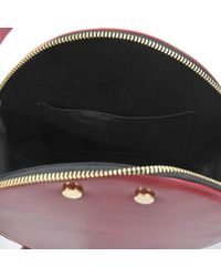 Tl-180 Red Drum Hobo Bag Box Leather