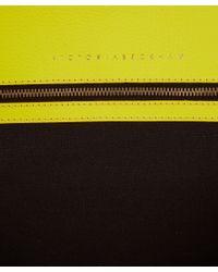 Victoria Beckham Yellow Liberty Tote Bag