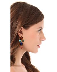 Ben-Amun - Multicolor Colorful Stone Earrings - Lyst