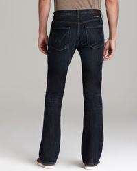 Citizens of Humanity Blue Jeans Jagger Bootcut Fit in Troy for men