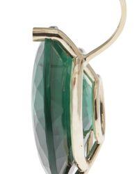 Delfina Delettrez - Green Big Piercing Earring - Lyst