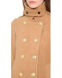 Gerald & Stewart Brown Wool Pea Coat