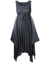 Issey Miyake Cauliflower - Gray Sleeveless Dress - Lyst