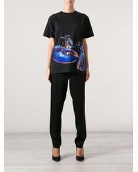 Katie Eary Black Lobster Print Tshirt for men