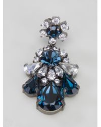 Shourouk - Blue Statement Earrings - Lyst