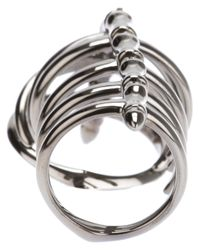 Stephen Webster - Metallic Dents De La Mer Knuckle Ring - Lyst