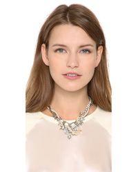 Tom Binns - Metallic Crystal Tangled Necklace - Lyst