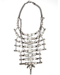Emanuele Bicocchi | Metallic Jeweled Necklace | Lyst
