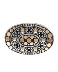 John Hardy - Metallic Dot Oval Eastwest Ring Size 7 - Lyst