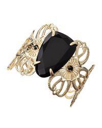 Kendra Scott | Cambrie Openwork Bracelet Black | Lyst