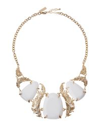 Kendra Scott | Metallic Iggy Leaf Resin Necklace | Lyst