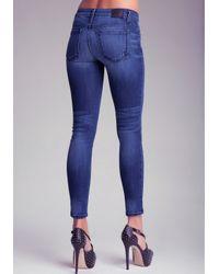 Bebe Blue Signature Icon Skinny Jeans