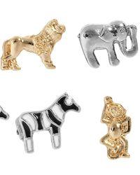H&M - Metallic 6pack Earrings - Lyst