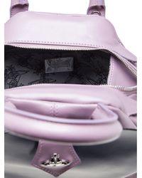Vivienne Westwood Purple Heart Flap Bag