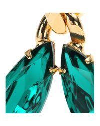 Etro - Metallic Embellished Clipon Earrings - Lyst
