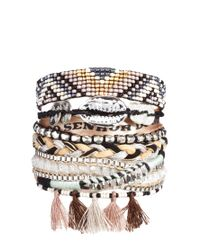 Hipanema Gray Shadow Bracelet