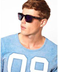 ASOS Purple Oakley Garage Rock Wayfarer Sunglasses for men