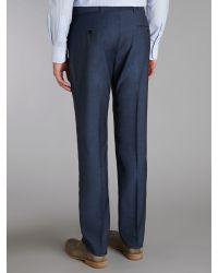 Ben Sherman | Blue Mohair Tonic Slim Suit Trousers for Men | Lyst