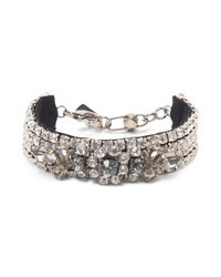 Club Monaco - Metallic Radà Statement Bracelet - Lyst