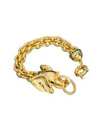 Guess | Metallic Glamazon Elephant Bracelet | Lyst