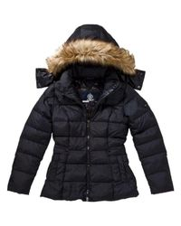 Tommy Hilfiger - Black Maine Hooded Jacket - Lyst