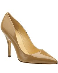 kate spade new york | Natural Licorice Patent Pump | Lyst
