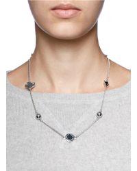 Marc By Marc Jacobs - Metallic Bird Motif Short Medley Necklace - Lyst