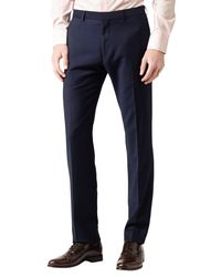 Reiss Blue Youngs T Trousers for men