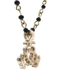 Stussy | Metallic Bling Necklace | Lyst