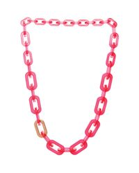 Ted Baker - Pink Jacey Chain Necklace 189 - Lyst