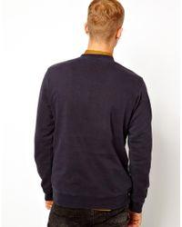 ASOS Blue Dickies Vintage Horseshoe Sweatshirt for men