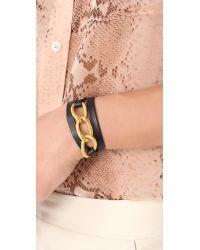 Gorjana Metallic Parker Leather Wrap Bracelet