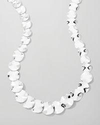 Ippolita | Metallic Scultura Small Wavy Disc Collar Necklace | Lyst