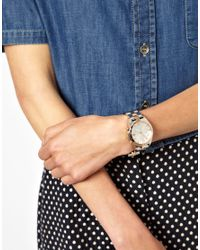 Olivia Burton | Metallic Marc By Marc Jacobs Two Tone Henry Watch | Lyst