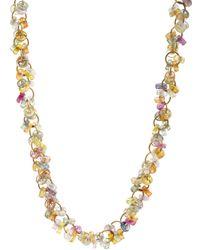 Marie-hélène De Taillac - Multicolor Sapphire Circus Necklace - Lyst