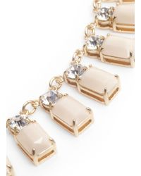 J.Crew   Natural Crystal Fringe Necklace   Lyst