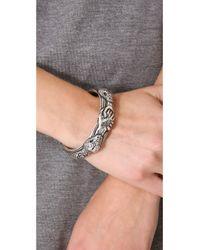 Pamela Love - Metallic Sororum Cuff Bracelet - Lyst
