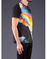 Basso & Brooke Black Power Rainbow T Shirt for men