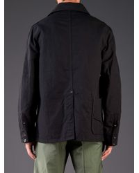 Engineered Garments Black Coverall Jacket for men