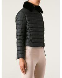 Valentino - Black Padded Jacket - Lyst
