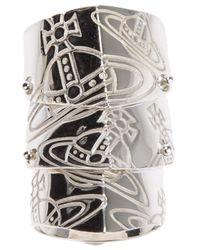 Vivienne Westwood | Metallic Finger Wrap Orb Ring | Lyst